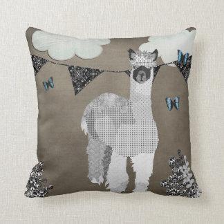 Alpaca Shades of Grey Mojo Pillow