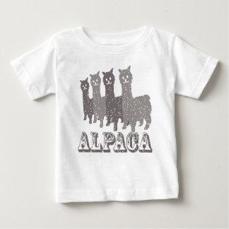 Alpaca Silhouette 4 B Baby T-Shirt