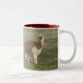 Alpaca Two-Tone Coffee Mug