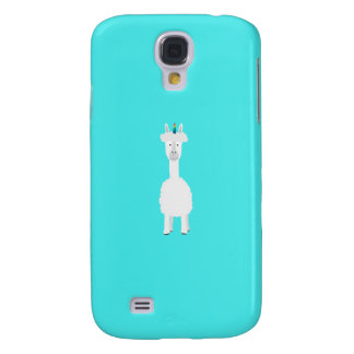 Alpaca with Unicorn Rainbow Horn Q1Q Galaxy S4 Case