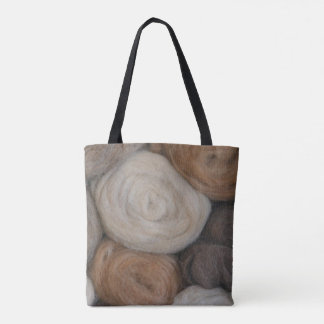 Alpaca Wool Tote Bag