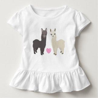 Alpacas and Heart Toddler T-Shirt