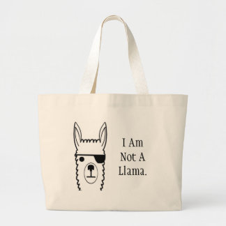 Alpaca's are special. large tote bag