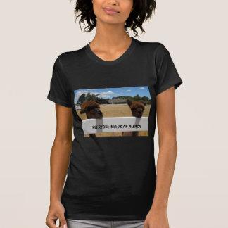 Alpacas in Templeton, California T-shirt