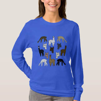Alpacas Rock Long Sleeve Shirt