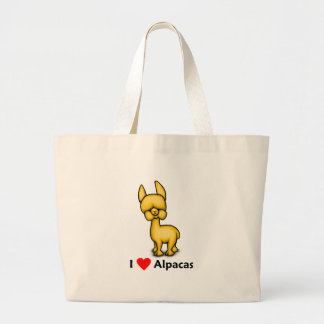 alpacasilove large tote bag