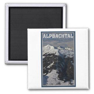 Alpbach Ski Area Fridge Magnets