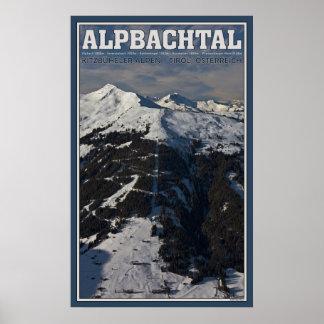 Alpbachtal from Schatzberg Poster