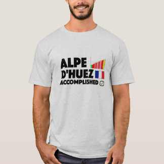 Alpe D'Huez Accomplished Cycling T Shirt France