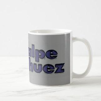 alpe dhuez basic white mug