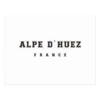 Alpe dhuez France Postcard