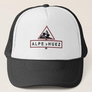 Alpe D'huez Road Sign Trucker Hat