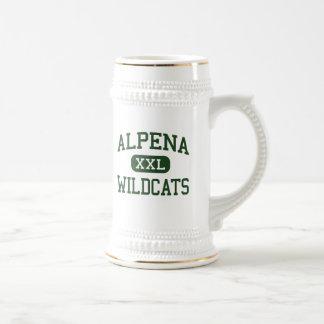 Alpena - Wildcats - High School - Alpena Michigan Beer Stein