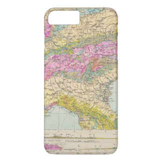 Alpenlander - Atlas Map of the Alps iPhone 8 Plus/7 Plus Case
