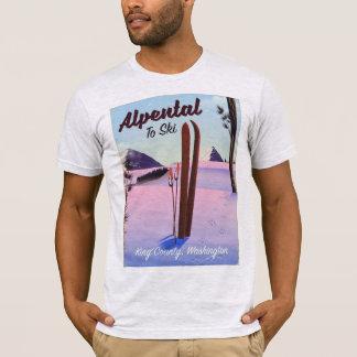 Alpental  King County, Washington ski poser T-Shirt