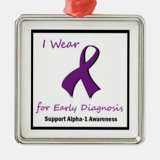 Alpha-1 Awareness Ornament