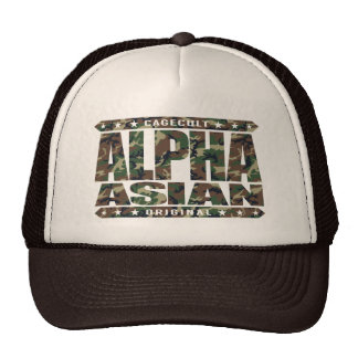 ALPHA ASIAN - On Top of Genetic Food Chain, Camo Cap