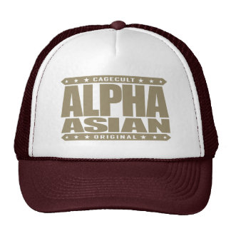 ALPHA ASIAN - On Top of Genetic Food Chain, Gold Cap