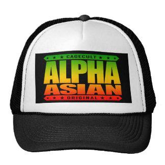 ALPHA ASIAN - On Top of Genetic Food Chain, Rasta Cap