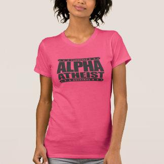 ALPHA ATHEIST - I Live Life Big Bang Style, Black Tees