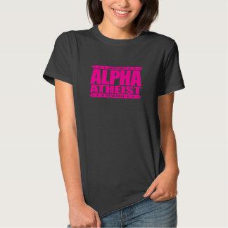 ALPHA ATHEIST - I Live Life Big Bang Style, Pink T-shirt