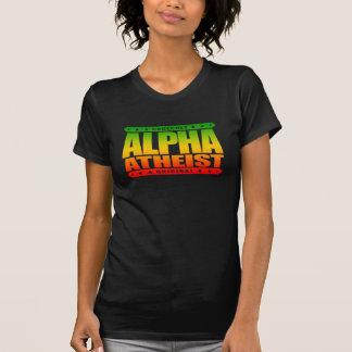 ALPHA ATHEIST - I Live Life Big Bang Style, Rasta T-Shirt