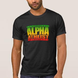ALPHA ATHEIST - I Live Life Big Bang Style, Rasta Tees
