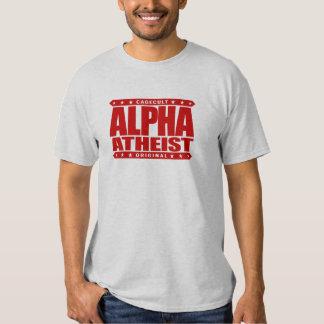 ALPHA ATHEIST - I Live Life Big Bang Style, Red Shirt