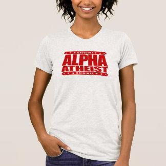 ALPHA ATHEIST - I Live Life Big Bang Style, Red T-Shirt