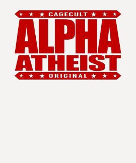 ALPHA ATHEIST - I Live Life Big Bang Style, Red Tshirt