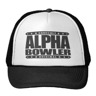 ALPHA BOWLER - Always Aim For Perfect Game, Black Cap