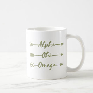Alpha Chi Omega | Arrows Coffee Mug