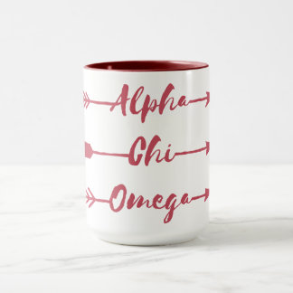 Alpha Chi Omega | Arrows Mug