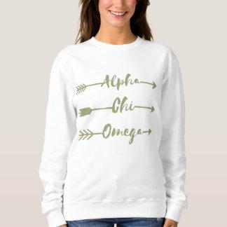 Alpha Chi Omega   Arrows Sweatshirt