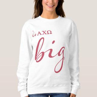 Alpha Chi Omega   Big Script Sweatshirt