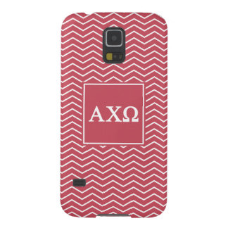 Alpha Chi Omega | Chevron Pattern Galaxy S5 Cases