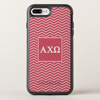 Alpha Chi Omega | Chevron Pattern OtterBox Symmetry iPhone 7 Plus Case