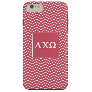 Alpha Chi Omega | Chevron Pattern Tough iPhone 6 Plus Case
