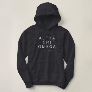 Alpha Chi Omega   Est. 1885 Hoodie