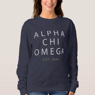 Alpha Chi Omega   Est. 1885 Sweatshirt