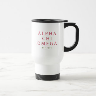 Alpha Chi Omega | Est. 1885 Travel Mug