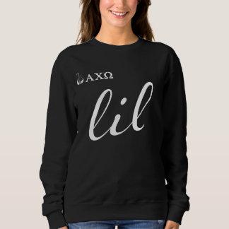 Alpha Chi Omega   Lil Script Sweatshirt