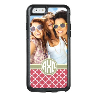 Alpha Chi Omega   Monogram and Photo OtterBox iPhone 6/6s Case