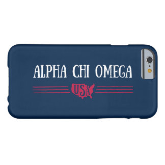 Alpha Chi Omega - USA Barely There iPhone 6 Case