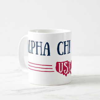 Alpha Chi Omega - USA Coffee Mug