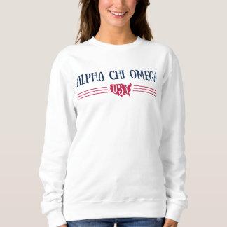 Alpha Chi Omega - USA Sweatshirt