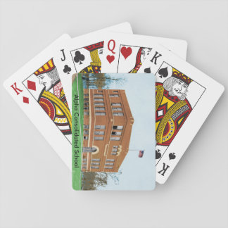 Alpha Consolidated School Playing Cards