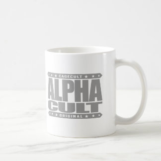ALPHA CULT - I Love Mixed Martial Arts MMA, Silver Basic White Mug