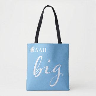 Alpha Delta Pi   Big Script Tote Bag