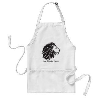 Alpha Delta Pi Black Lion Standard Apron